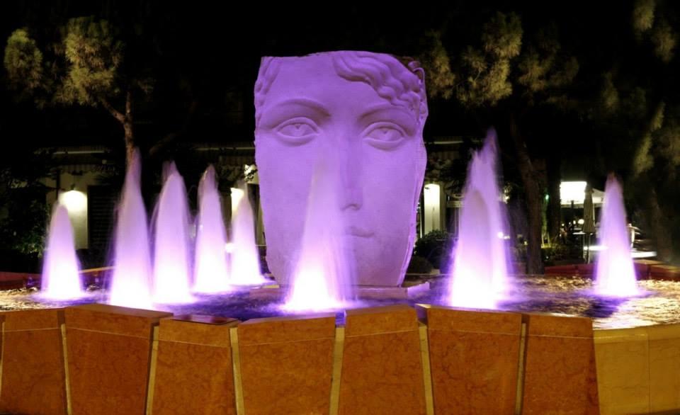 La fontana di Davide Campigotto (Verona, VR)